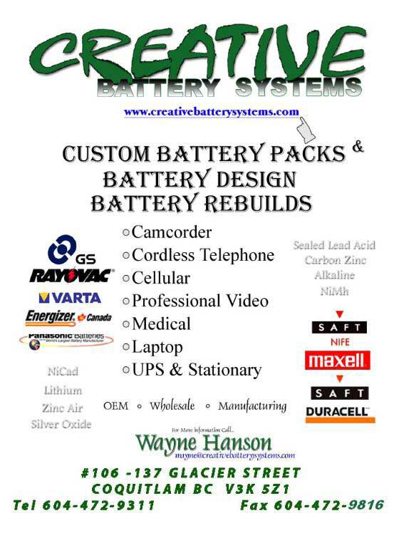 Creative Battery Systems
